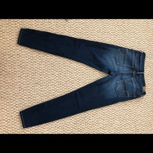 High-rise super-stretch jeans from American Eagle.